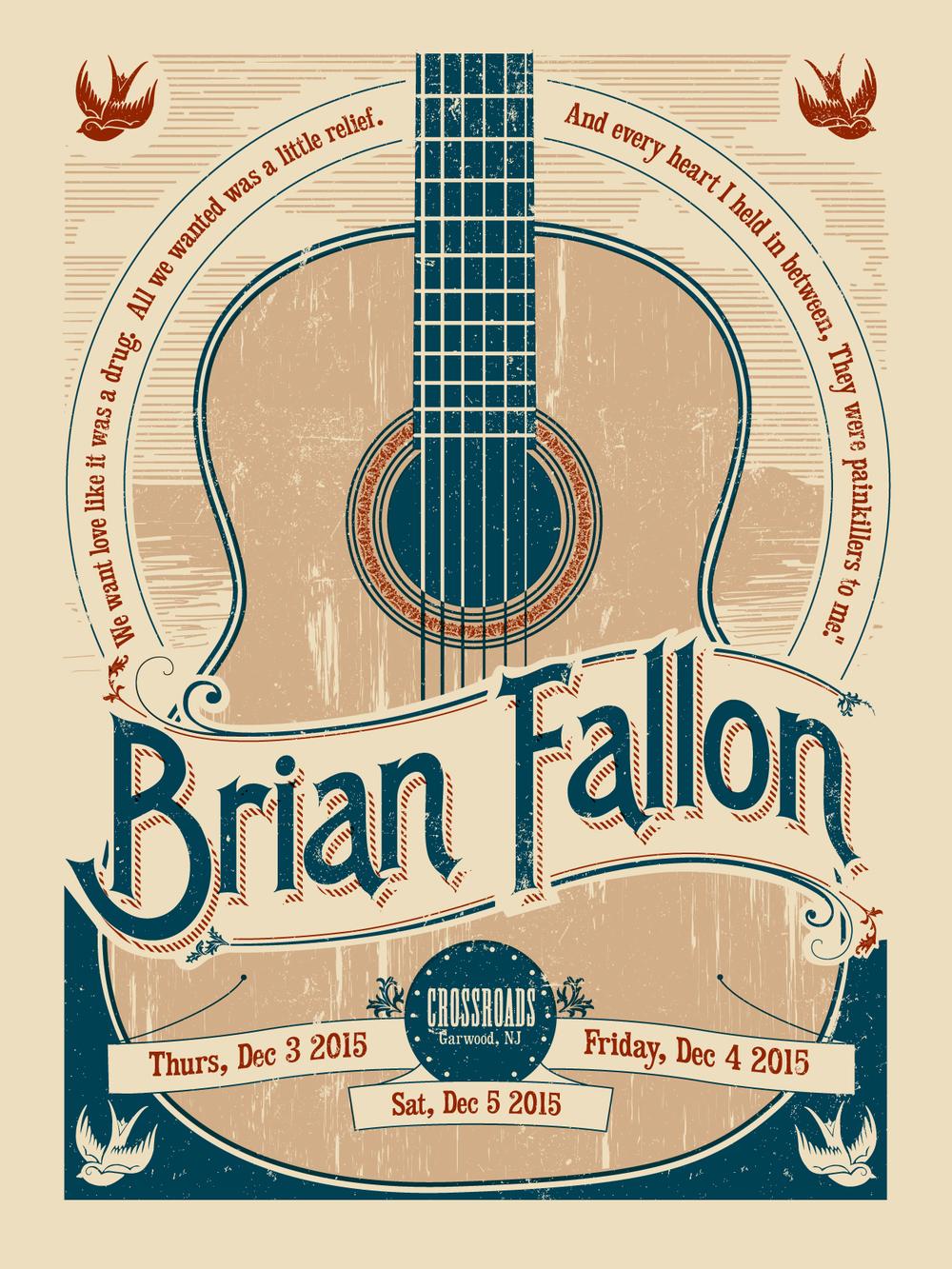 Brian Fallon - 12/3-5/15