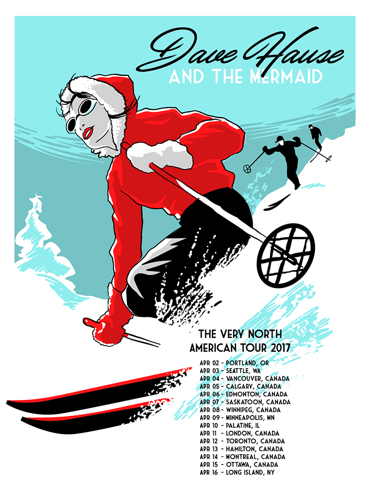 Dave Hause Very North American Tour 2017