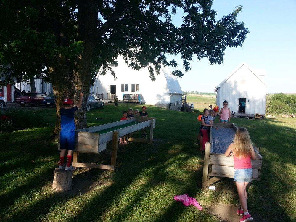 A classic Bethany Farm setting.
