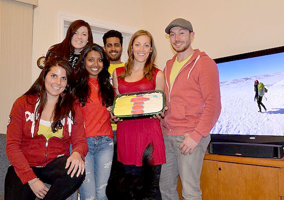 Watching the Amazing Race Canada Iqaluit episode.