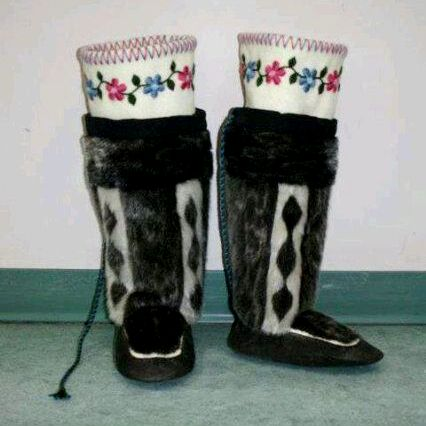 Seal skin boots for $2000.