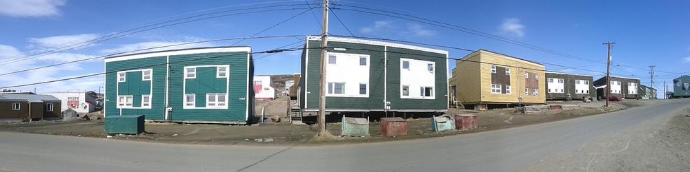 The dorm-like housing of Iqaluit.