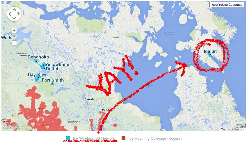 Where Is Iqaluit On A Map Of Canada Blog — Finding True North