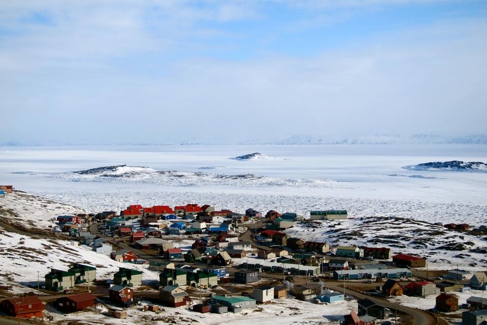 House hunting in Iqaluit's Happy Valley neighbourhood.