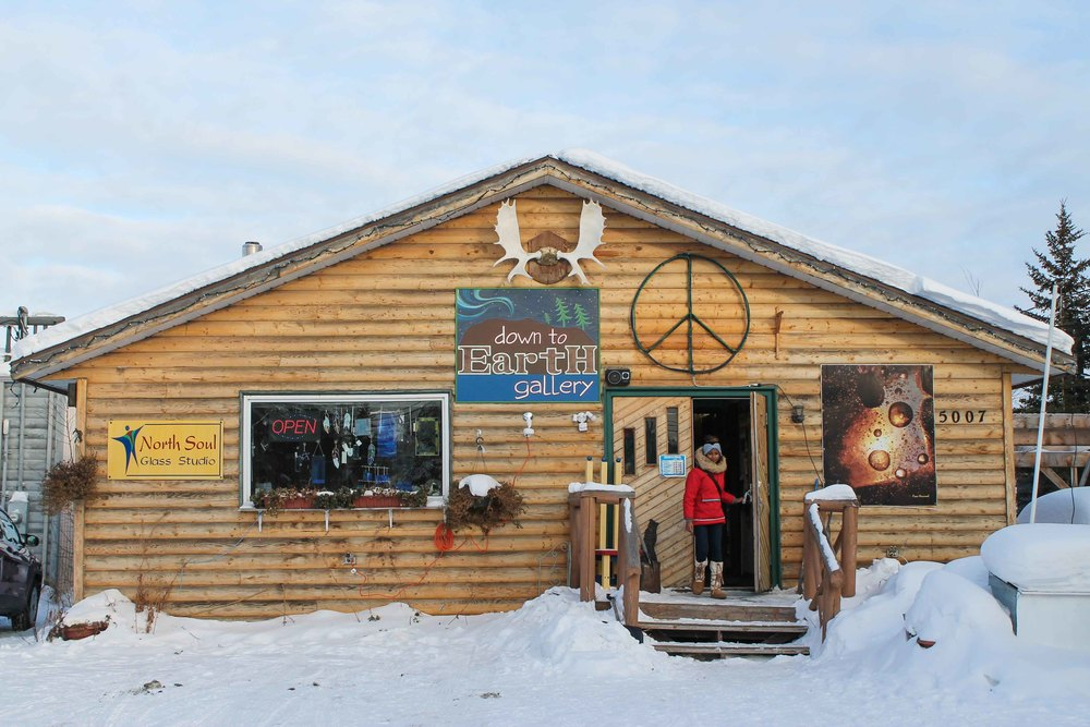 Down to Earth Gallery in Yellowknife.