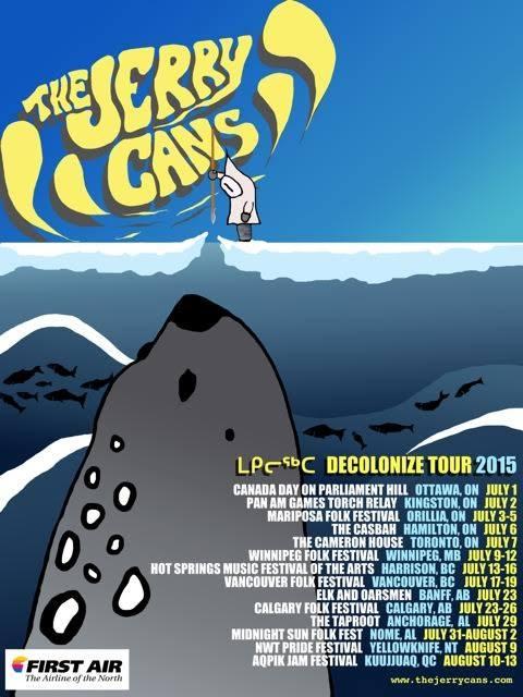 jerry cans decolonize tour