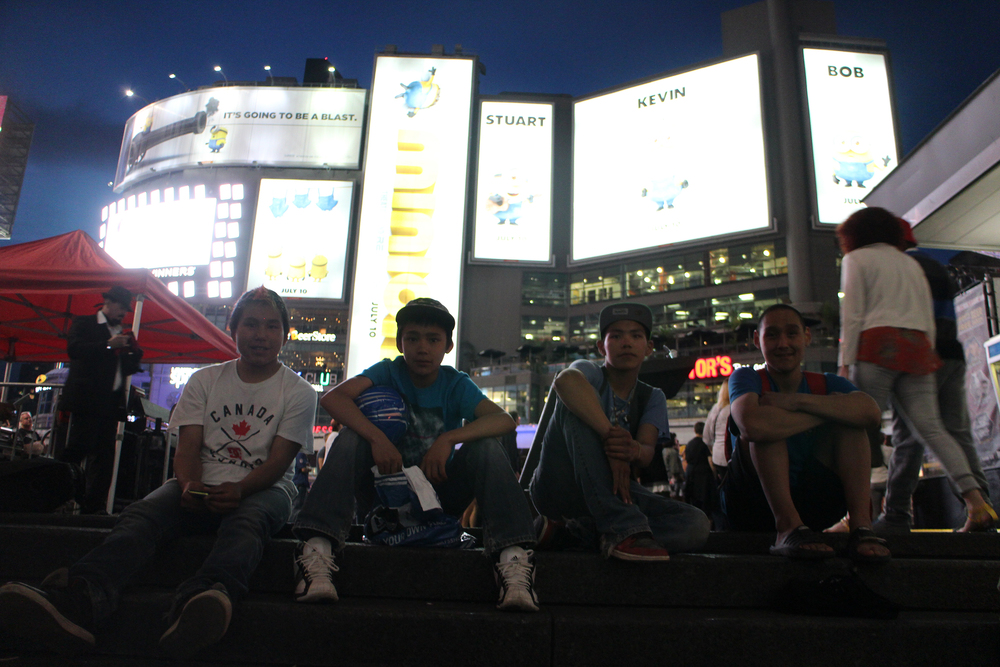Audi, Latch, Parr, and Cie at Yonge and Dundas. Photo by Alexa Hatanaka.