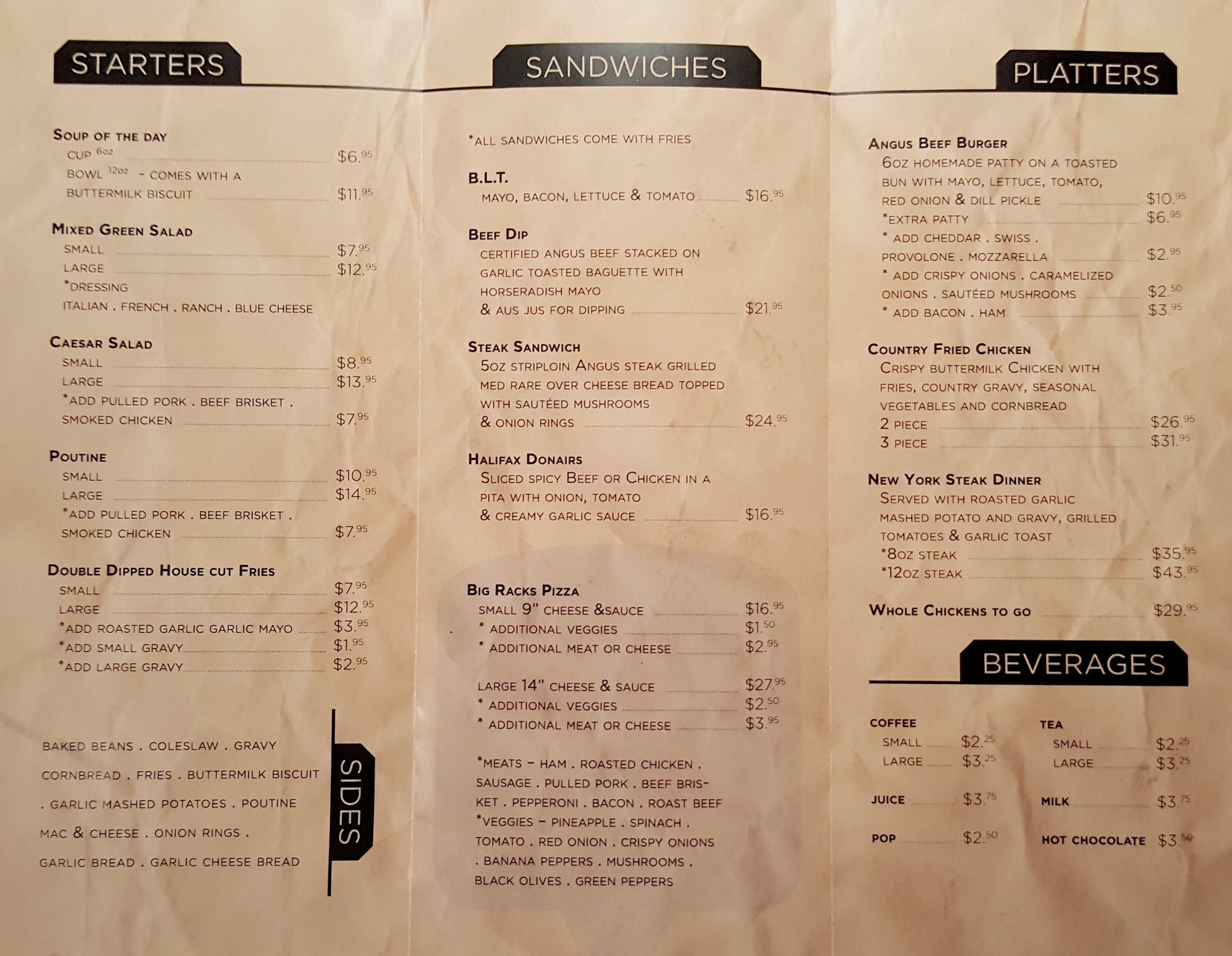 First Taste Big Racks Barbecue Iqaluit Menu And Review