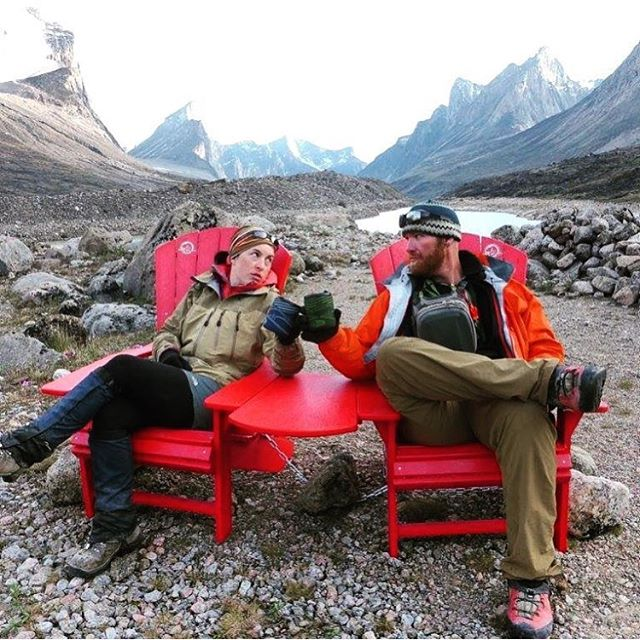 Cheers to the weekend! Photo in Auyuittuq National Park by @inukpak.outfitting.