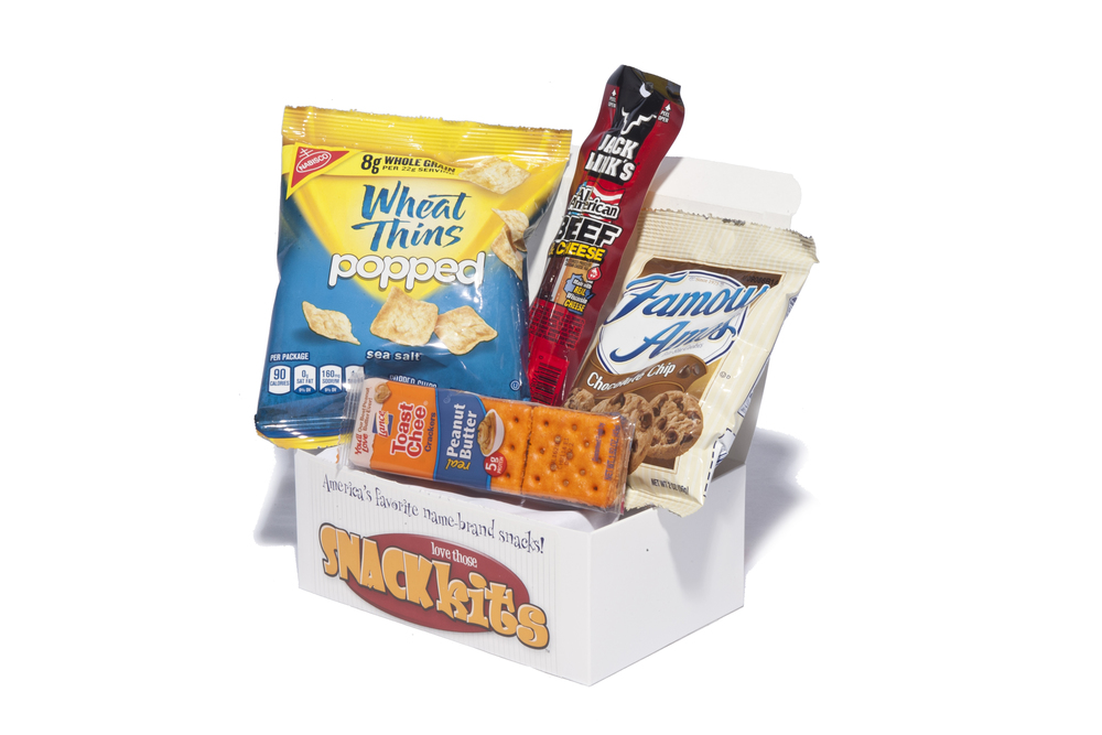"""Take 5"" - PM01 Beef & Cheese Stick Combo Wheat Thins Peanut Butter Cookies Chocolate Chip Cookies NAPA# 8940-01-E62-0158"