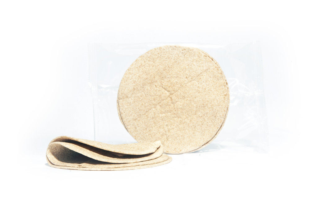 "TORT6WW60FILM   Whole Wheat Tortilla 2 per 6"" in MAP (Modified Atmosphere Packaging) 1 Year shelf life"