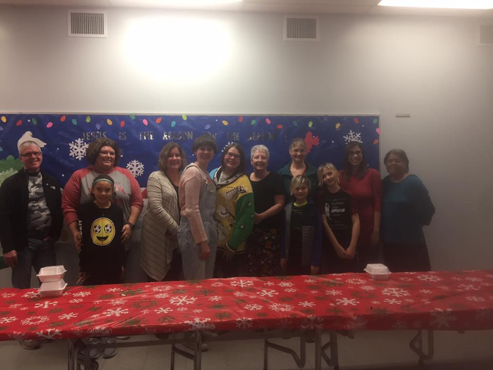 Christmas Eve at The Salvation Army