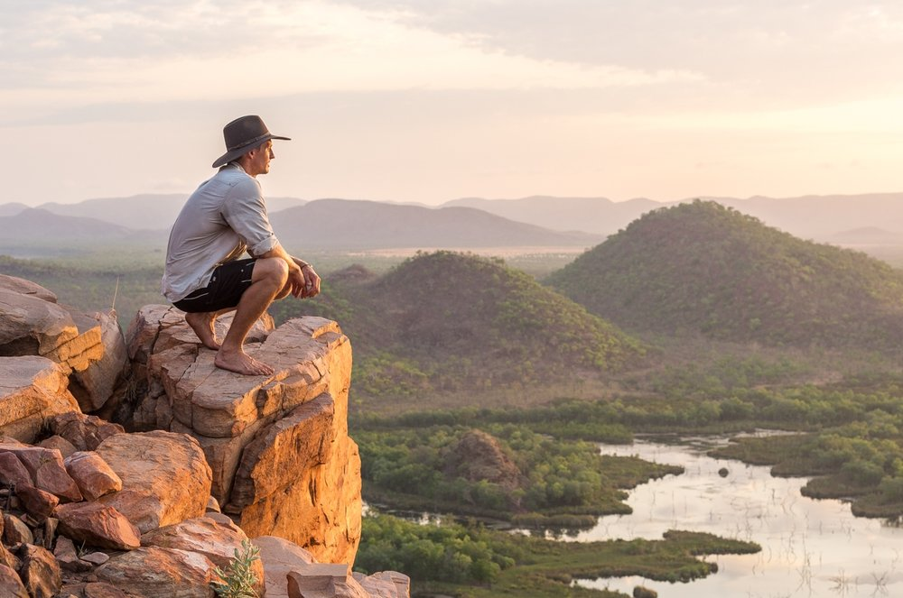 The Scenic Route - Journalist Tom De Souza is a travelling story-teller, who spent some time in the eastern Kimberley with Kimberley Spirit's Scotty Connell. Read his story about Scotty by clicking here.