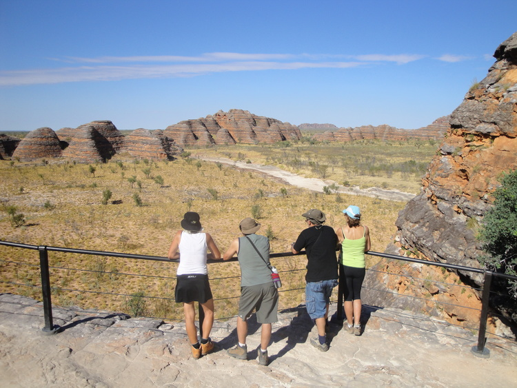 Day 3 / Night 4 - Explore the World Heritage-listed Purnululu National Park. Test out the acoustics of the natural amphitheatre at Cathedral Gorge. Enjoy breathtaking views from Piccaninny Creek lookout and admire the striped patterns of the beehive domes. Travel to Echidna Chasm, a spectacular natural cleft in the rock. Witness the rocks change colour at sunset and fall asleep to the sounds of the bush under a blanket stars. Overnight: Bungle Bungles Savannah Lodge