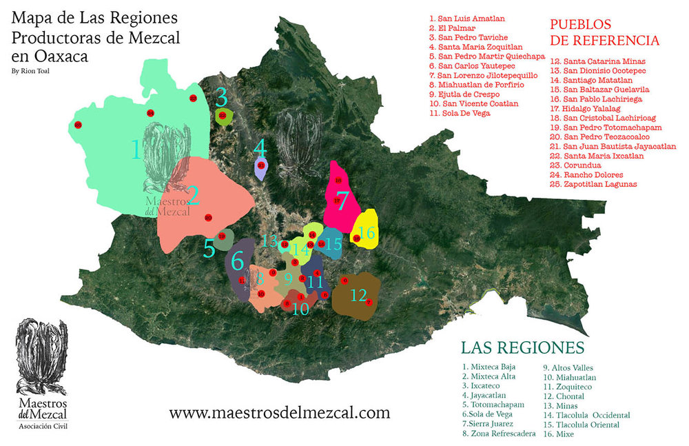 Please contact maestrosdelmezcal@gmail.com to purchase a hard-copy map