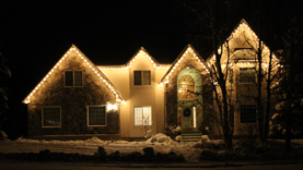 If you would like to liven up your home for the Christmas Season let us help you by installing custom Christmas Lights on your home. & Christmas Lights u2014 Grass Masters Utah