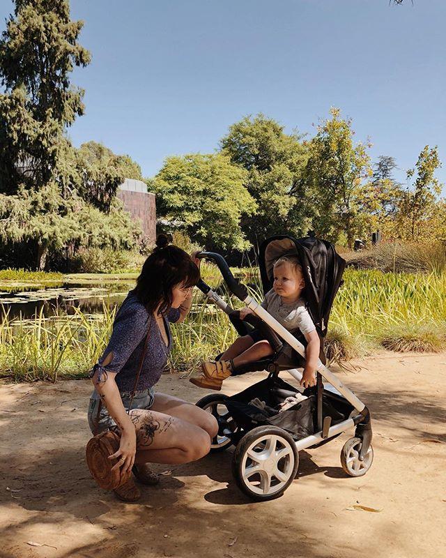 maman et bébé au musée ☀️ #finaldaysofsummer