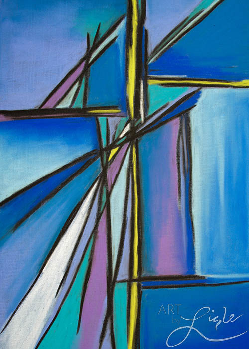 """crossroads, 2"" Based on jeremiah 6: 16 created for next church national gathering, atlanta, ga february 2016"