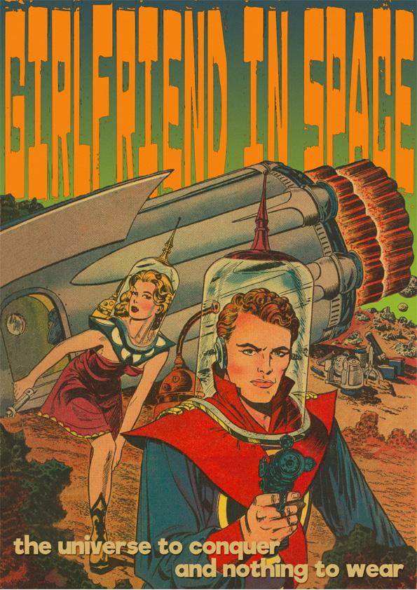girlfriend in space -