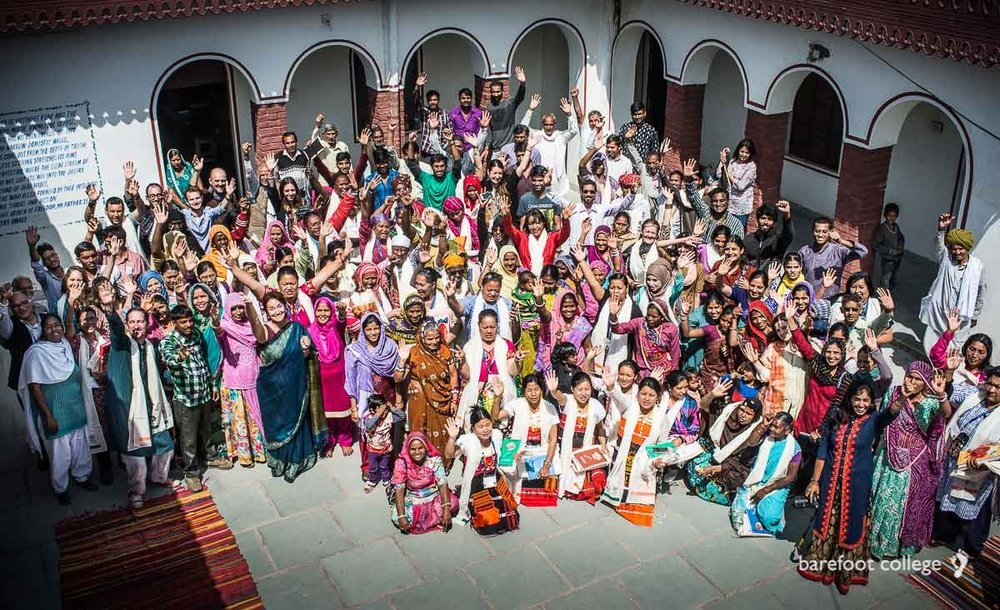 Barefoot College women in India