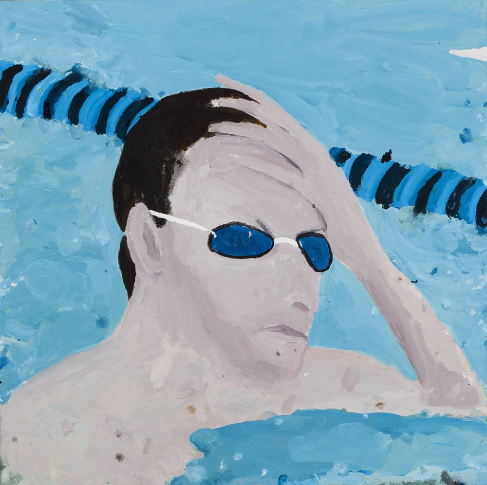 Sam's Reflections On The  Olympic Pool -