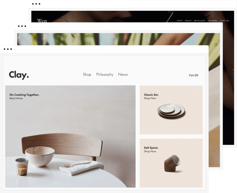 Squarespace websites. - Beautifully modern and seamlessly functional websites, optimised for every device, SEO and everything you need in a business site!