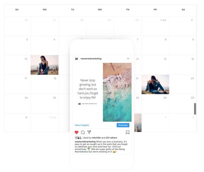 Share. - Learn to write posts that stand out in the feed, get our social media post checklist, and set up a free post scheduling tool so everything is super streamlined. Productive much?