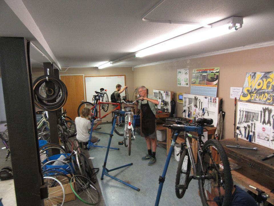DONATING BICYCLES, PARTS AND TOOLS - During open hours, we're glad to take donations of underused bicycles, parts or tools at our shop. We salvage what we can and recycle or re-purpose the rest. We usually are not able to pick up donations, but we do make exceptions. Contact us if you think you have something we'd be interested in but can't get it to the shop.