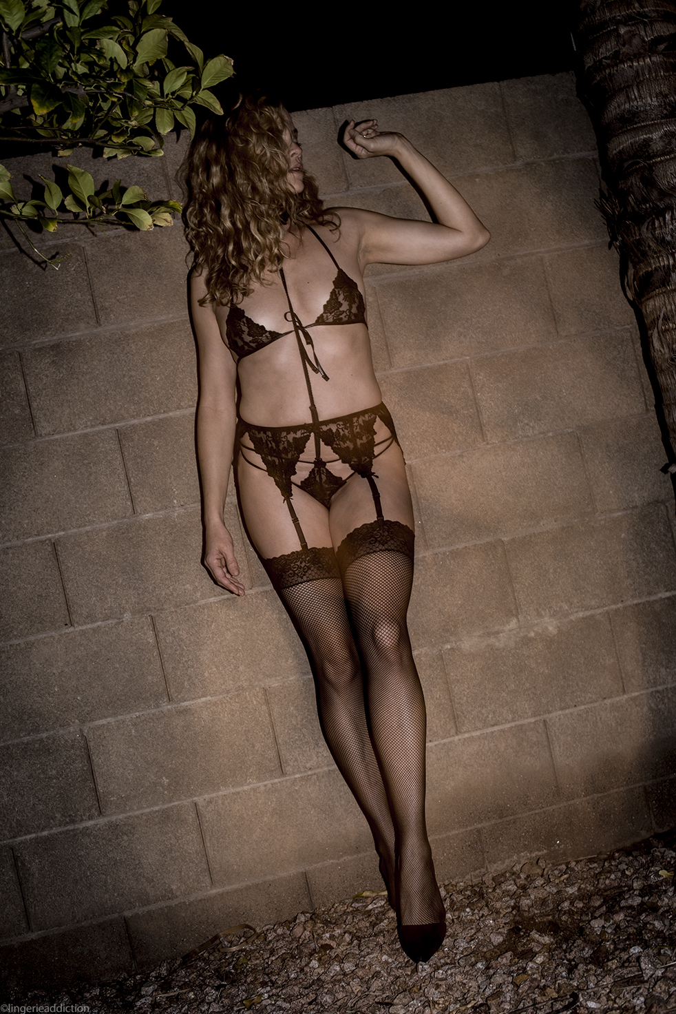 Darkest Fox | Mystique lingerie set | Designed by Gigi K
