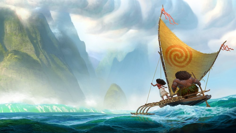Disney's Moana and Maui