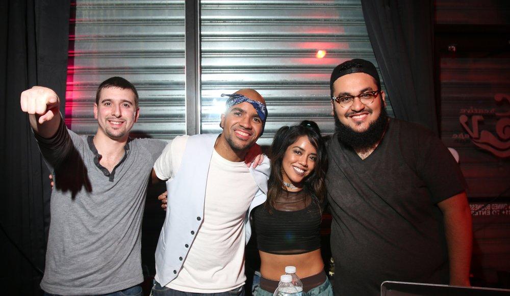 SBTB Creators (left to right) Jeremy, DJ Jovito (@jovitobaybeh), Elyssa (@lafemmemonet), DJ TRST (@TRSTkills)