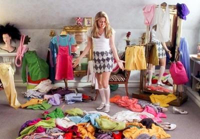 Cher's wardrobe meltdown in  Clueless