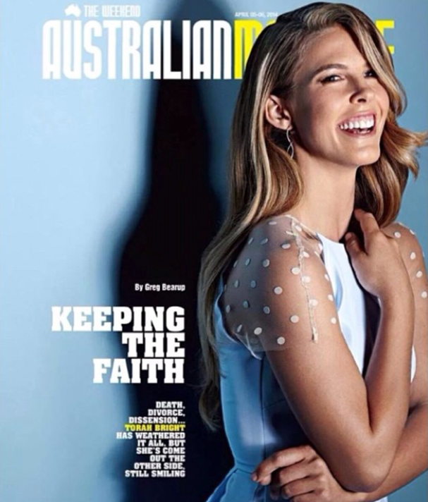 Torah Bright - Australian Magazine Cover / Editorial