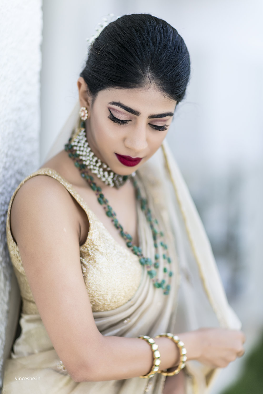 5696298e3e3 The list of things to bear in mind while planning your bridal look is  endless. Here are a few tips from ShimmerMe to look stunning on your big  day!