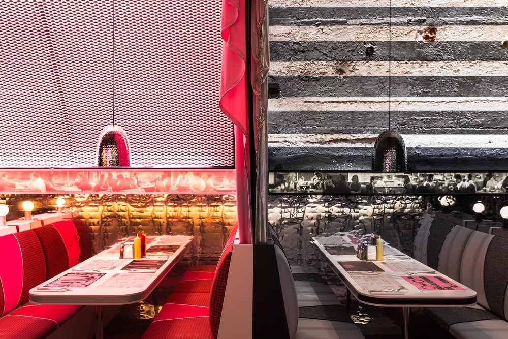 Surface presents The Diner by David Rockwell in collaboration with 2x4. Image by Michele de Candia.