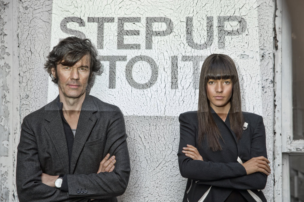 Stefan Sagmeister & Jessica Walsh – Image by John Madere