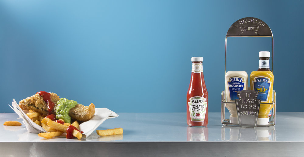 Full Heinz Foodservice Range