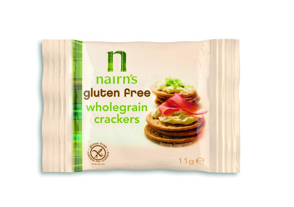 Gluten Free Wholegrain Crackers