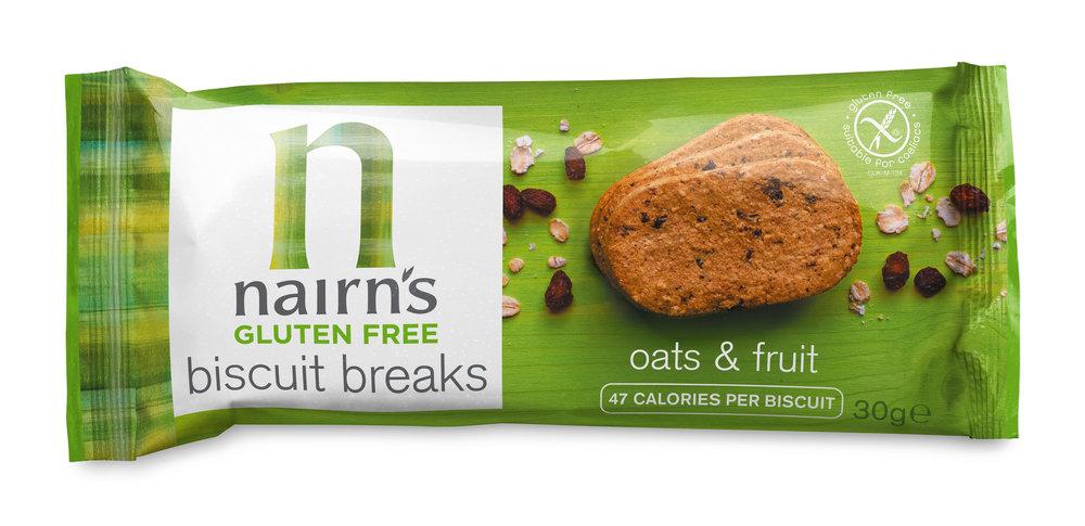 Oats & Fruit Biscuit Breaks