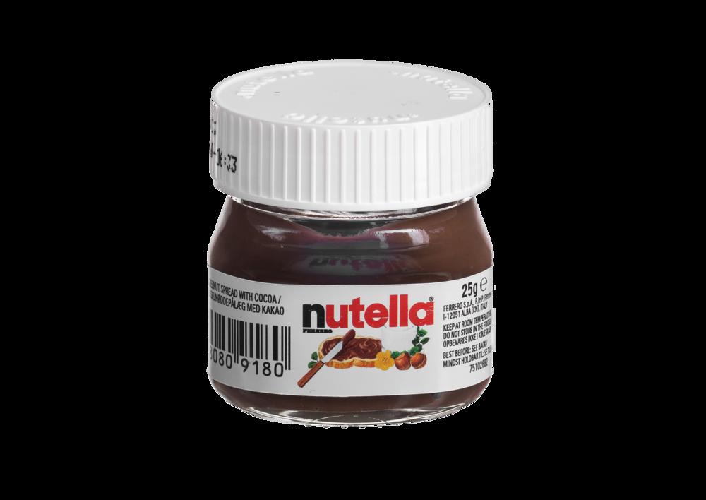 Nutella Mini Jars