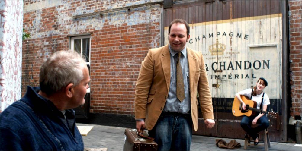 Angus Benfield. Director of 'Trust'