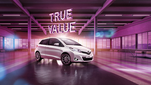 2014 Toyota Yaris for Saatchi & Saatchi London