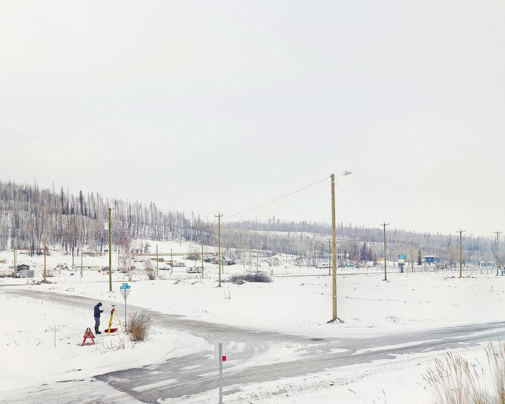 Saline Creek Dr, Fort McMurray, Alberta, Canada. February 2017