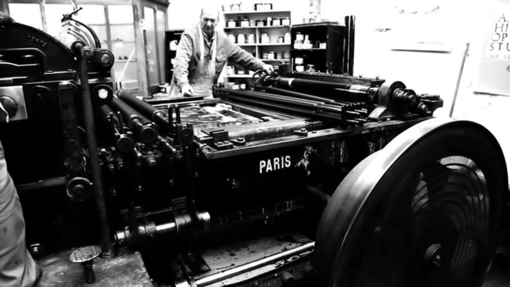 Idem Paris David Lynch - 7:48 min Short documentary directed by David Lynch. The film is a wordless observation of the lithographic process at the legendary fine art printing studio Idem Paris.