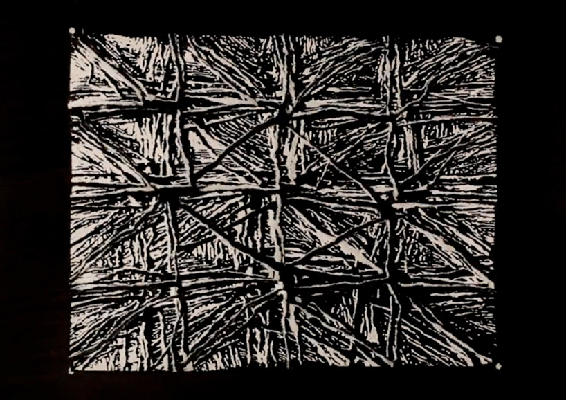 Division  Johan Rijpma - 1:34 min  A piece of paper is ripped multiple times, creating a series of new patterns. Directed by Dutch visual artist and filmmaker Johan Rijpma.