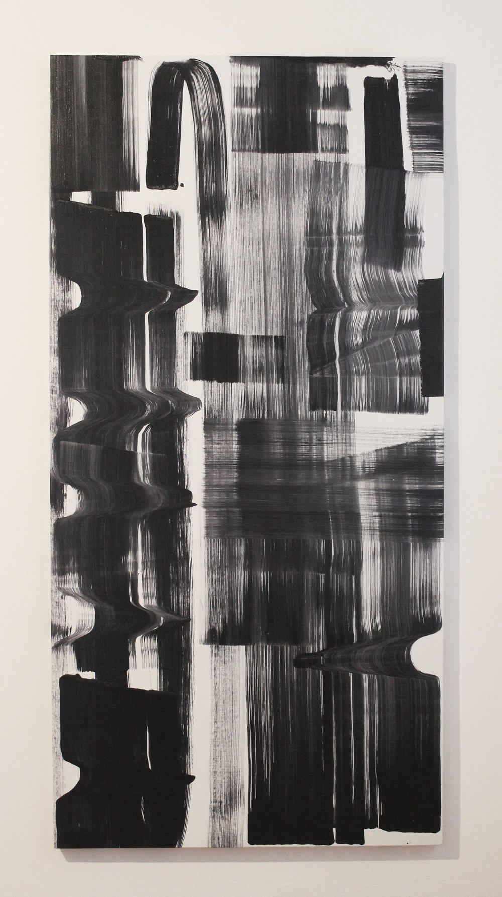 204x101 Olieverf en Acrylverf op doek 2016