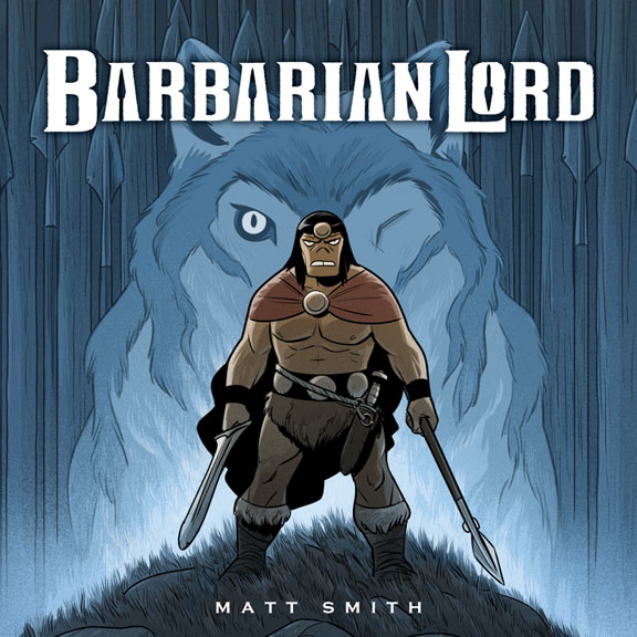 Barbarian Lord Graphic Novel Clarion Books