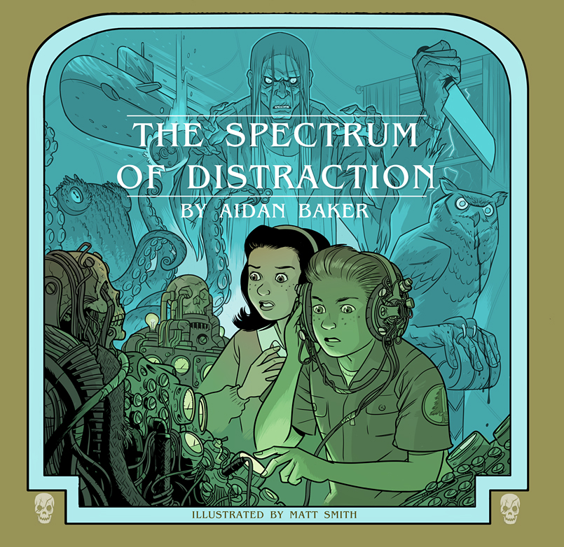 The Spectrum of Distraction cd jacket