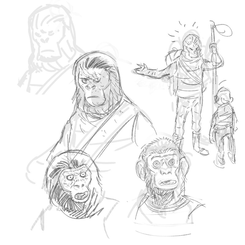 ape shall never draw ape