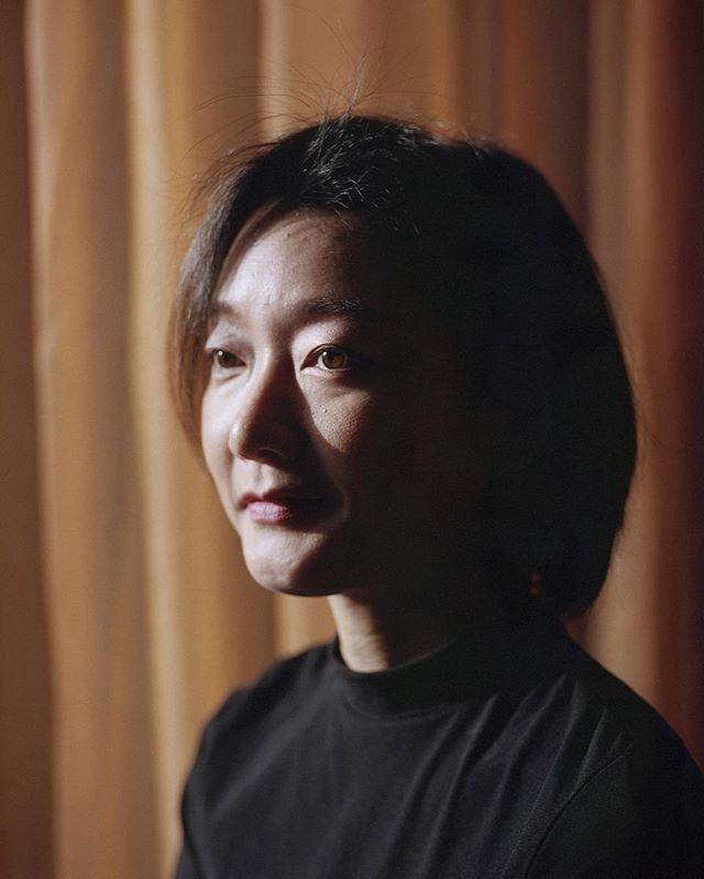 Portrait of orchestra conductor Kanako Abe